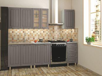 Модульная кухня Луксор клен серый